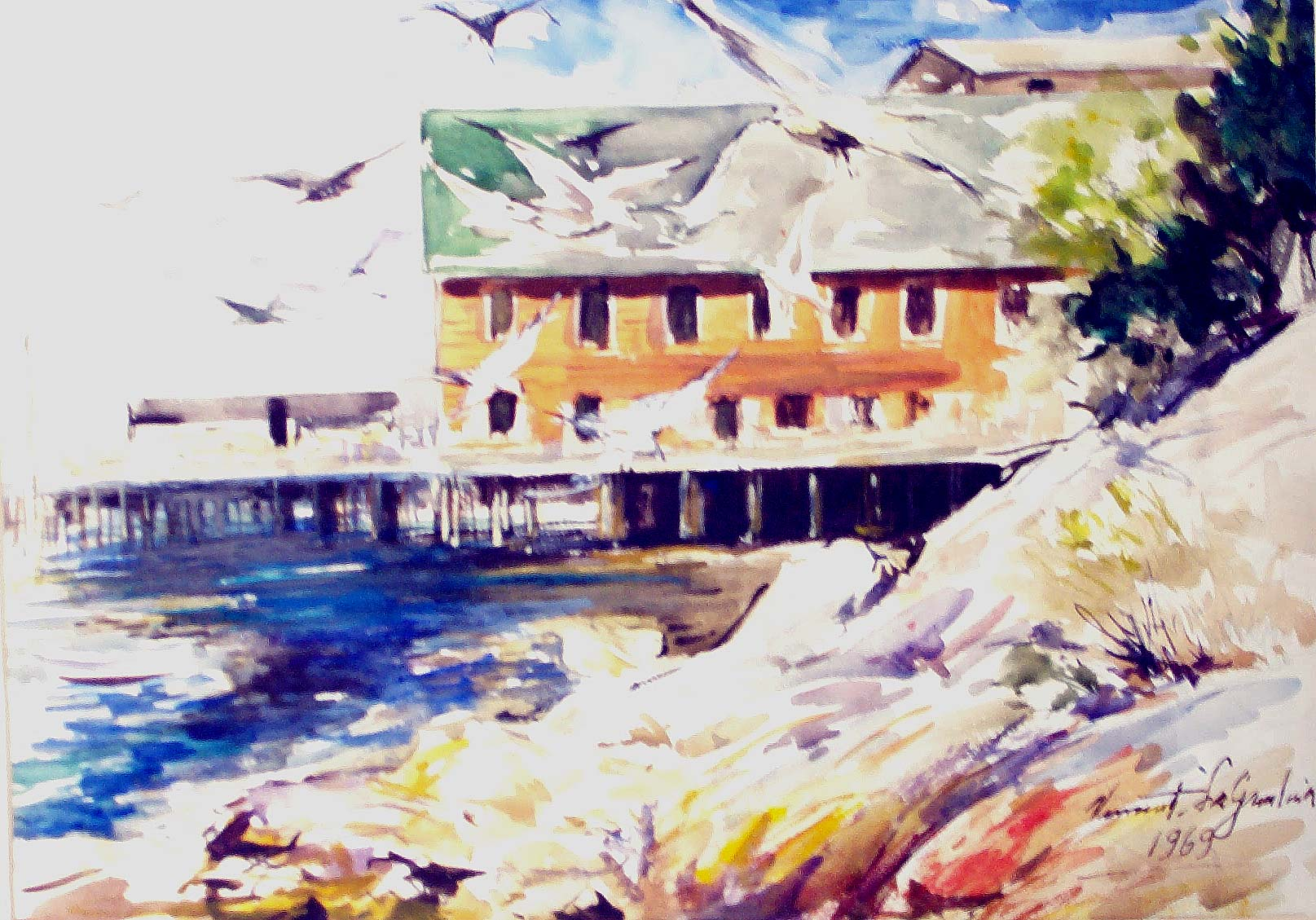 View More New England Watercolors